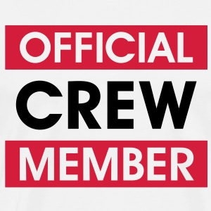 Official Crew Member Team T-Shirts Sports - Men's Premium T-Shirt