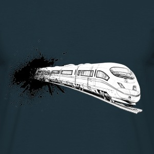 train ICE T-shirts - Herre-T-shirt