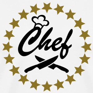 CHEF COOK COOKING valentine's day mother's - Men's Premium T-Shirt