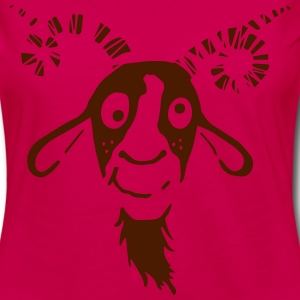 Funny Goat Long Sleeve Shirts - Women's Premium Longsleeve Shirt
