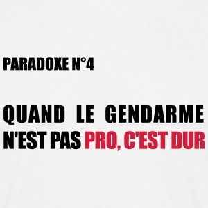PARADOXE gendarme Tee shirts - T-shirt Homme