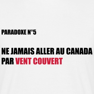 Paradoxe vent couvert Tee shirts - T-shirt Homme