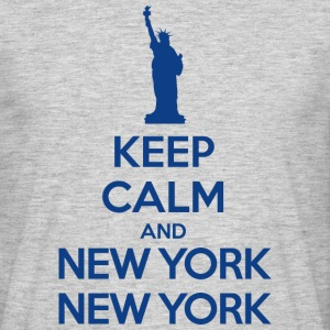 Keep calm and New York New York T-Shirts - Men's T-Shirt