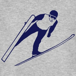ski jumping - ski flying Tee shirts - T-shirt bio Homme