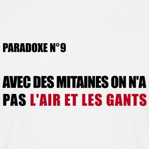 PARADOXE MITAINES Tee shirts - T-shirt Homme
