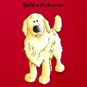 Cute Golden Retriever Shirts - Kids' Organic T-shirt