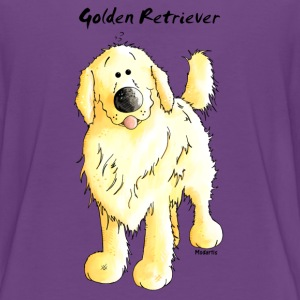 Süßer Golden Retriever - Hund T-Shirts - Teenager Premium T-Shirt