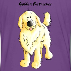 Cute Golden Retriever T-Shirts - Men's Premium T-Shirt