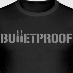 Bulletproof for him - Men's Slim Fit T-Shirt