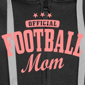 football mom Hoodies & Sweatshirts - Women's Premium Hooded Jacket