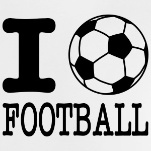 i love football with ball T-shirts - Baby-T-shirt
