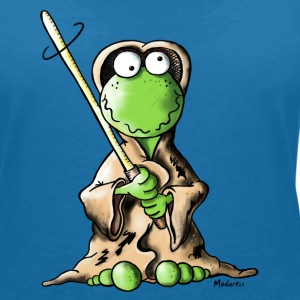 Jedi Frog T-Shirts - Women's V-Neck T-Shirt
