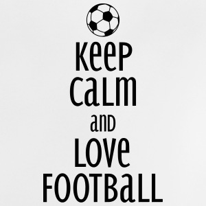 keep calm and love football Magliette - Maglietta per neonato