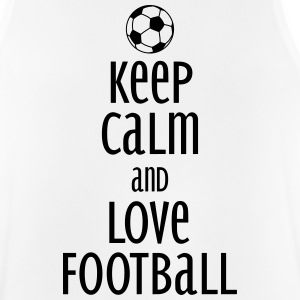 keep calm and love football Sports wear - Men's Breathable Tank Top