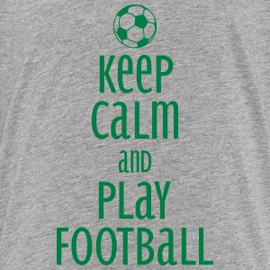 keep calm and play football Shirts - Teenage Premium T-Shirt