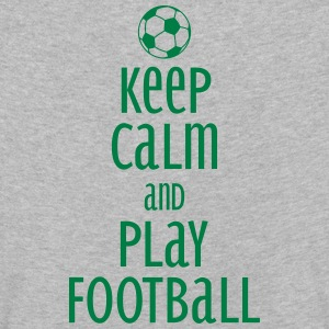 keep calm and play football Shirts met lange mouwen - Kinderen Premium shirt met lange mouwen