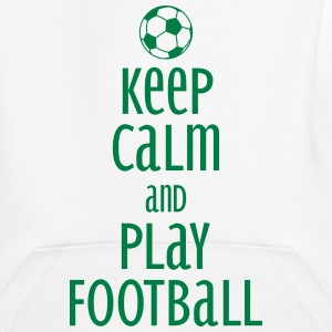 keep calm and play football Hoodies - Kids' Premium Hoodie