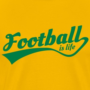 football is life 5 T-Shirts - Men's Premium T-Shirt