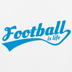 football is life 5 Tanktoppar - Premiumtanktopp herr