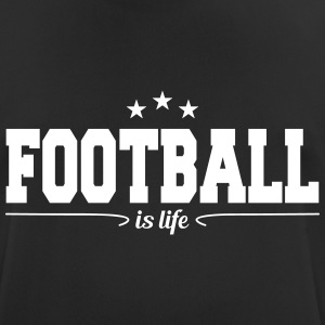football is life 4 T-shirts - Andningsaktiv T-shirt herr