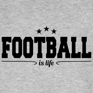 football is life 4 Magliette - T-shirt ecologica da uomo