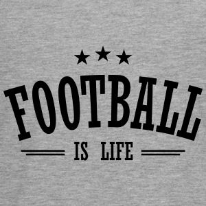 football is life 3 Long Sleeve Shirts - Teenagers' Premium Longsleeve Shirt