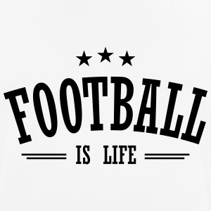 football is life 3 T-shirts - Andningsaktiv T-shirt herr