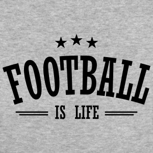 football is life 3 T-Shirts - Frauen Bio-T-Shirt