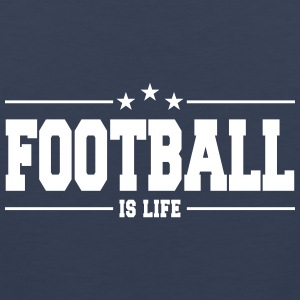 football is life 1 Tanktoppar - Premiumtanktopp herr