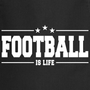 football is life 1 Tabliers - Tablier de cuisine