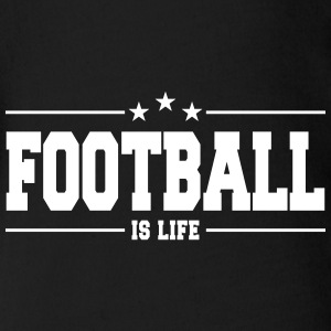 football is life 1 T-shirts - Ekologisk kortärmad babybody