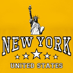 new york - united states T-Shirts - Women's Premium T-Shirt