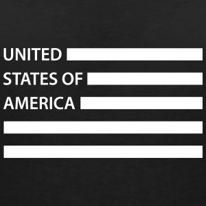 United States of America T-shirts - Vrouwen T-shirt met V-hals