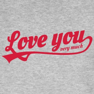 love you very much T-shirts - Ekologisk T-shirt herr