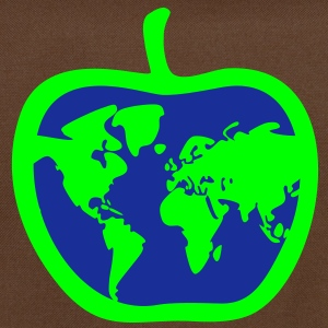 apple - world, earth - Shoulder Bag