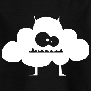 Lustiges Wolken Monster T Shirt Motiv - Teenager T-Shirt