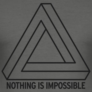 Impossible for him - slim fit T-shirt
