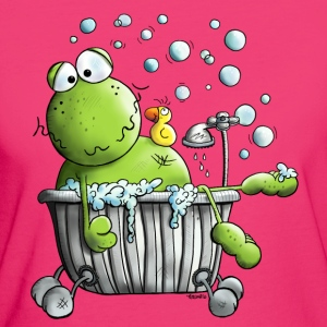 Wellness Frosch T-Shirts - Frauen Bio-T-Shirt
