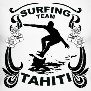 tahiti surfing team Manches longues - T-shirt baseball manches longues Homme