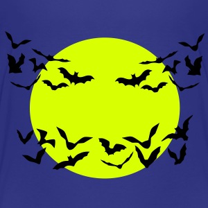 bats & full moon - Teenage Premium T-Shirt