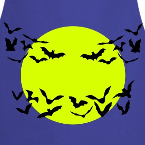 bats & full moon - Cooking Apron