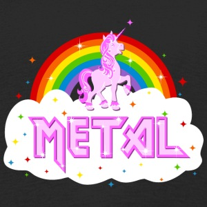 metal music heavy unicorn rainbow funny Long Sleeve Shirts - Kids' Premium Longsleeve Shirt