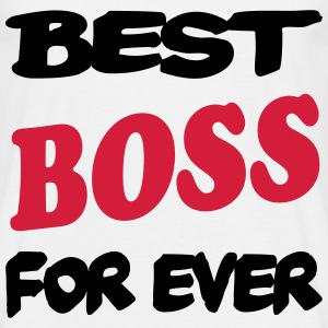 Best boss for ever 111 T-shirts - T-shirt herr