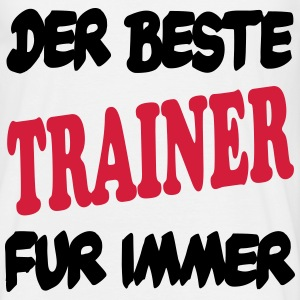 Der beste trainer fur immer 111 T-skjorter - T-skjorte for menn
