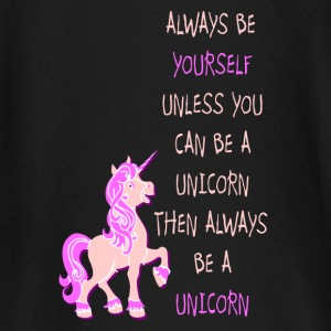 Be a Unicorn Einhorn be yourself pink Langarmshirts - Baby Langarmshirt