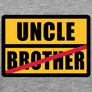 Brother - Uncle T-shirts - Herre premium T-shirt