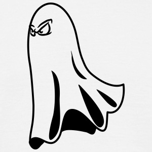 Ghost ghost humoristisk halloween onde T-shirts - Herre-T-shirt