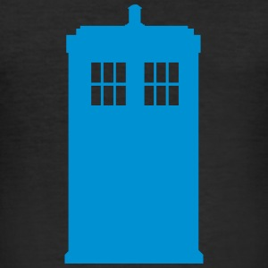 Police box - Herre Slim Fit T-Shirt
