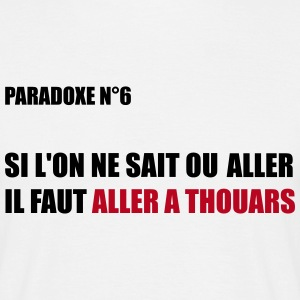 PARADOXE ALLER A THOUARS Tee shirts - T-shirt Homme