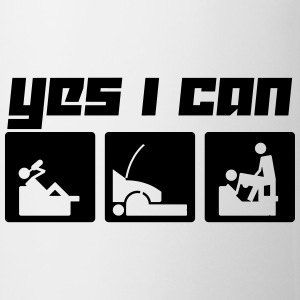 Yes I can (Vector) - Tasse